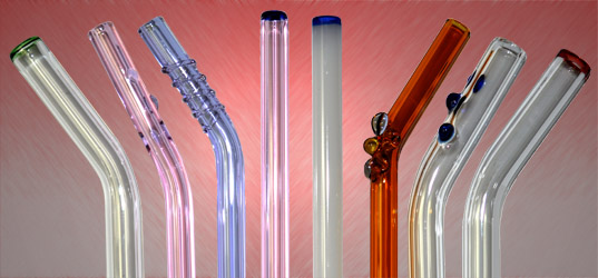 Glass Drinking Straw Decorative Selections