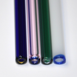 Straws with a Colored End